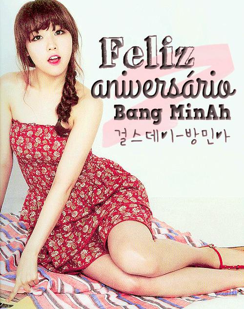 Feliz Aniversário, MinAh!